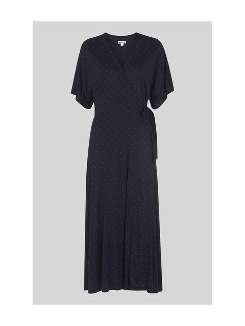 7e51ab8d3a6 Spot Wrap Jersey Dress   Endource
