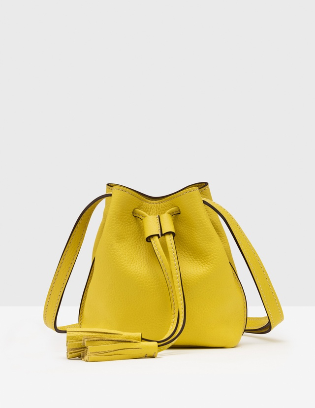 Mini tassel pouch bag endource for Boden yellow bag