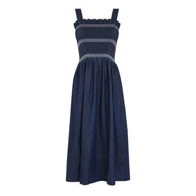 Smocked Strappy Dress  cf4a5e878