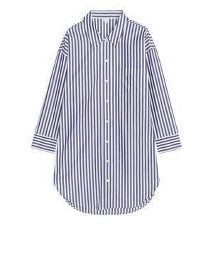 82edfdf2 Bengal Stripe Poplin Shirt by Arket