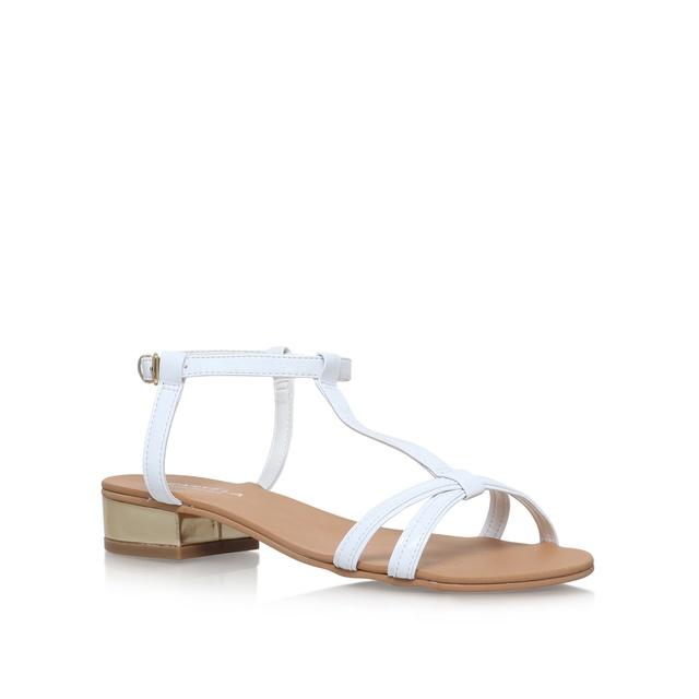 0b6592493bb7 Bravo Gold Flat Sandals