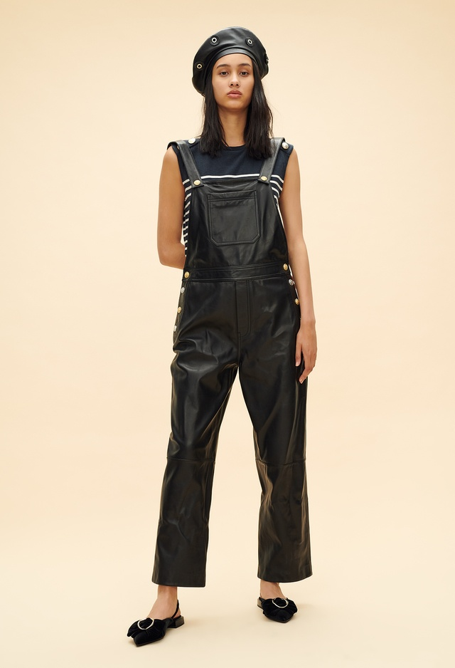 Leather Dungarees Endource