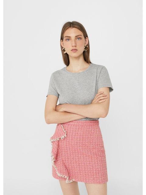 72729791b6d Ruffle Tweed Skirt