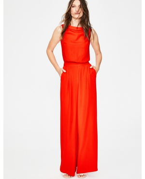 Boden Red Jumpsuits Endource