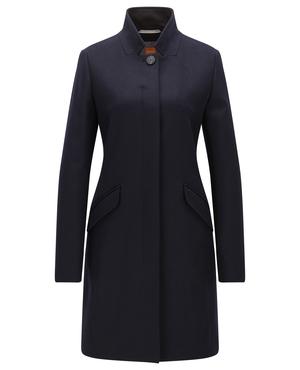 yara cocoon coat endource. Black Bedroom Furniture Sets. Home Design Ideas