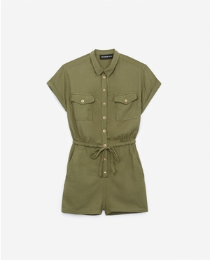 a986c97581f Safari Playsuit by The Kooples