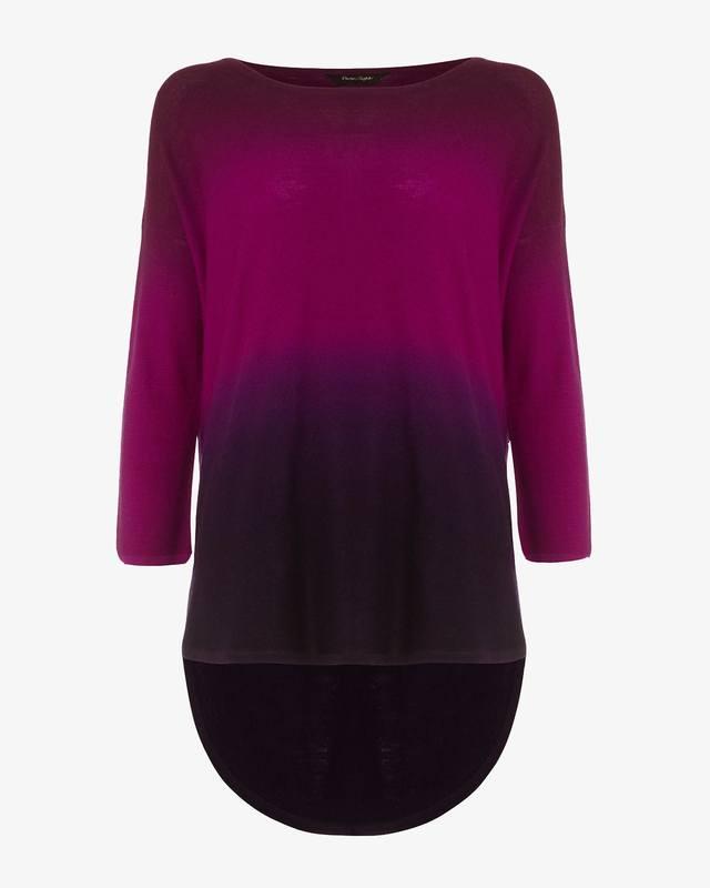 37b958cac94 Lynda Dip Dye Knitted Jumper