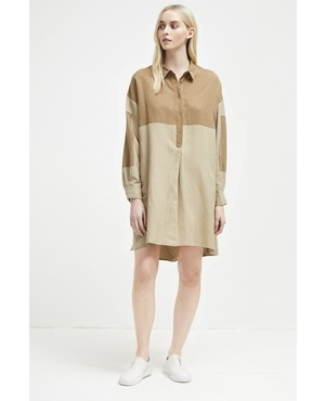 b377b1b607f Caspia Linen Shirt Dress by French Connection
