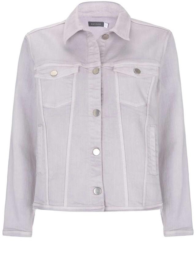 Lilac Denim Western Jacket Endource