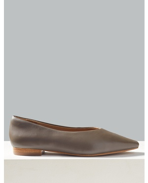 6b71de45842 Leather Square Toe Pumps by Marks and Spencer - Autograph. Marks and  Spencer - Autograph