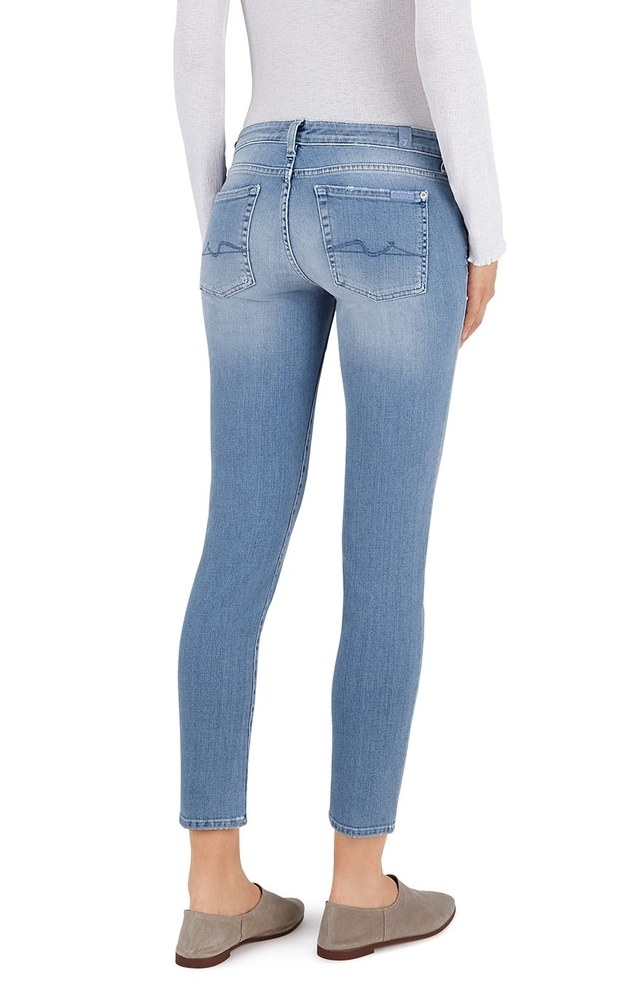 Pyper cropped jeans - Blue 7 For All Mankind Cheap Sale Websites Buy Cheap Sneakernews Discount Manchester Shop For Free Shipping Extremely YSzDF6