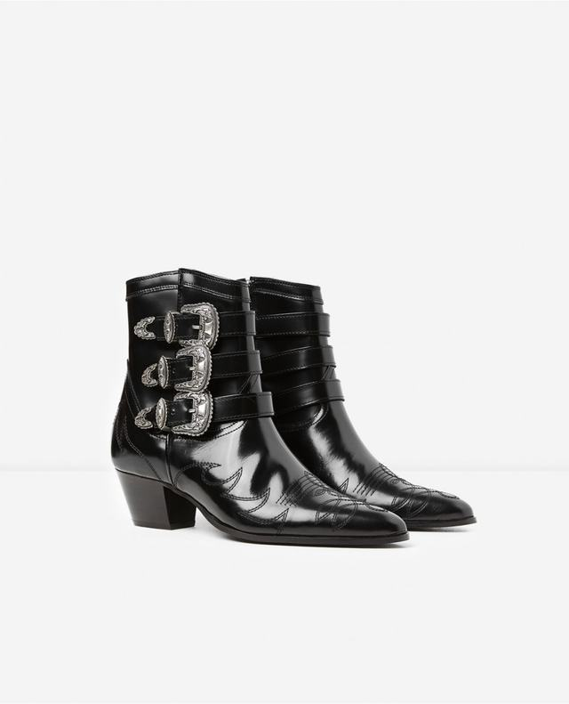 The Kooples Leather Cowboy Boots rN4BAPN
