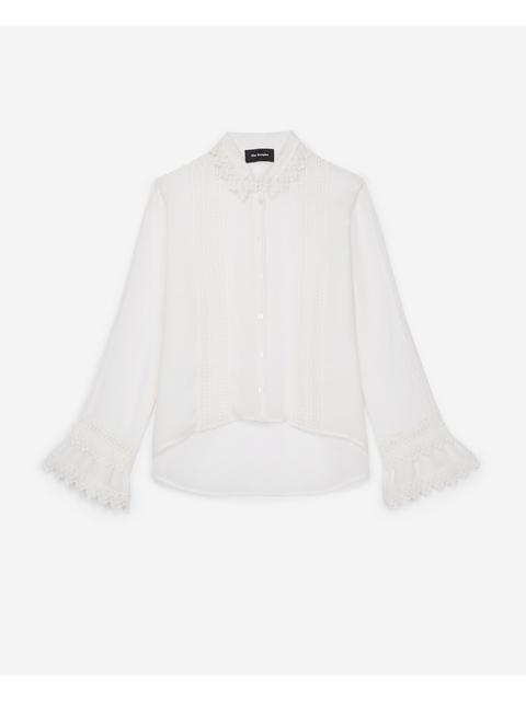 8fbc8e101a Lace Trim Shirt   Endource
