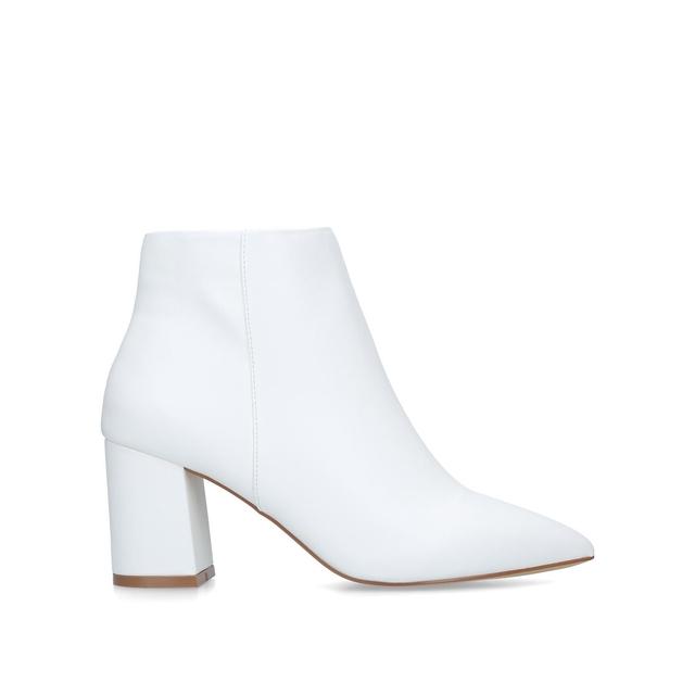 4f7ade1213f Sleek Block Heel Ankle Boots