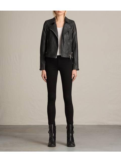 Conroy Leather Biker Jacket Endource