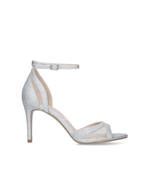 42686105603 Carvela Kurt Geiger Silver High Heel Sandals | Endource