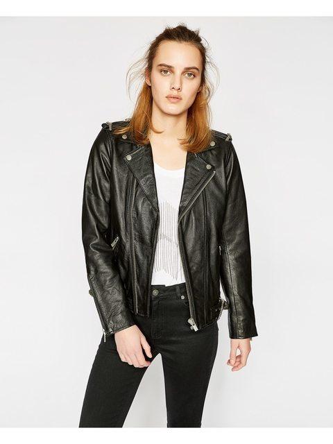229f06f8a4 Leather Biker Jacket | Endource
