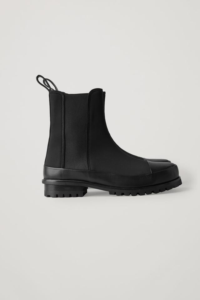Scuba Chelsea Boots   Endource