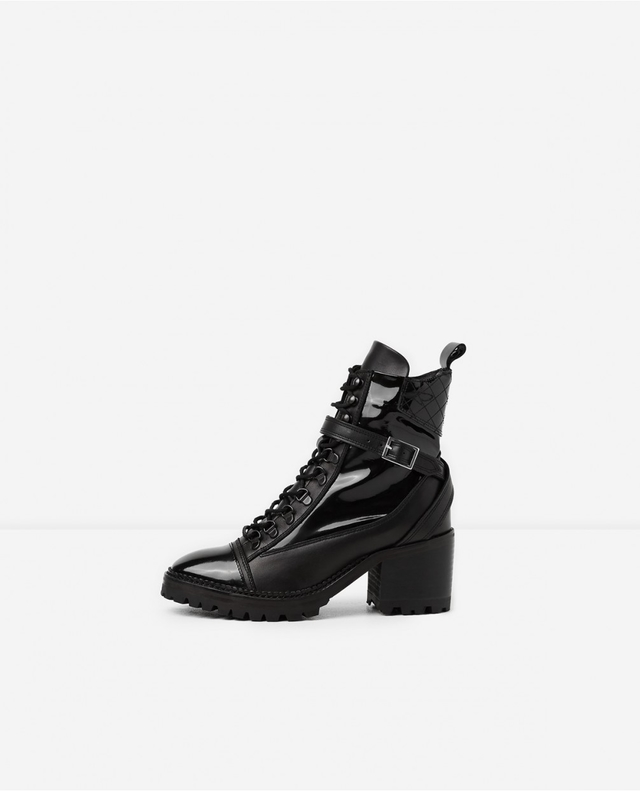 The Kooples Leather Lace Up Boots RjS8mWN