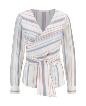 f317aa3f3 HUGO BOSS Multicoloured Cotton Tops | Endource