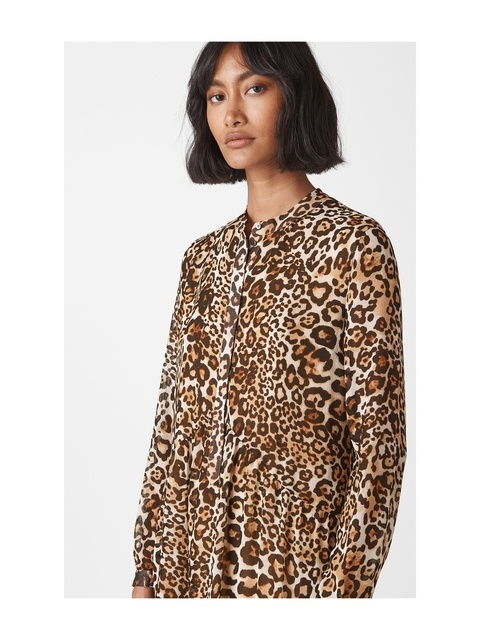c2c007c9e22a4 Animal Print Shirt Dress