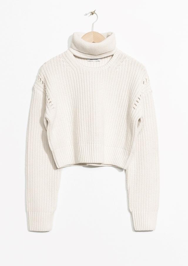 Crop Turtleneck Sweater Endource
