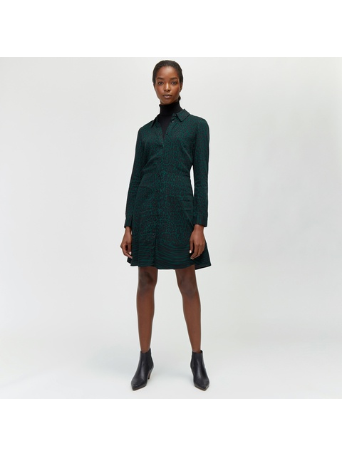 cddfb3a622b2 Mixed Animal Print Shirt Dress | Endource