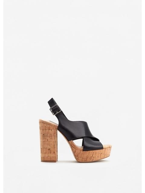 9abb4b71cff Platform Leather Sandals