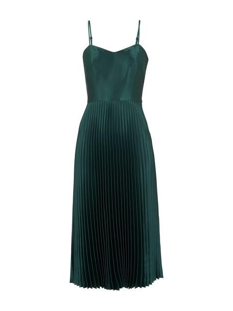 148b55ac5 Satin Pleated Strappy Dress | Endource