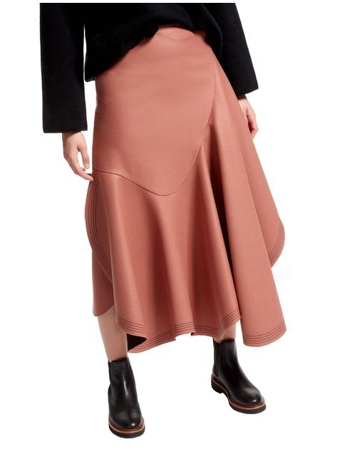620eb75b9f Bias Cut Wool Riding Skirt | Endource