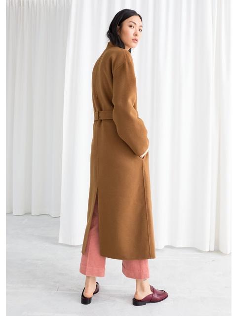 3a5e5240196b Belted Wool Blend Coat | Endource