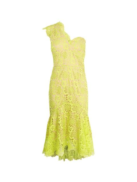 e0c69e53f7 Single-Shoulder Lace Dress | Endource