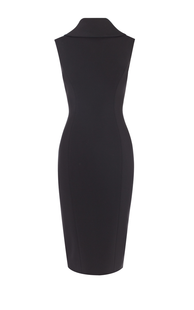 564b0374947 High Neck Pencil Dress | Endource