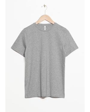 2018bc89cff Crewneck Organic Cotton Tee by   Other Stories