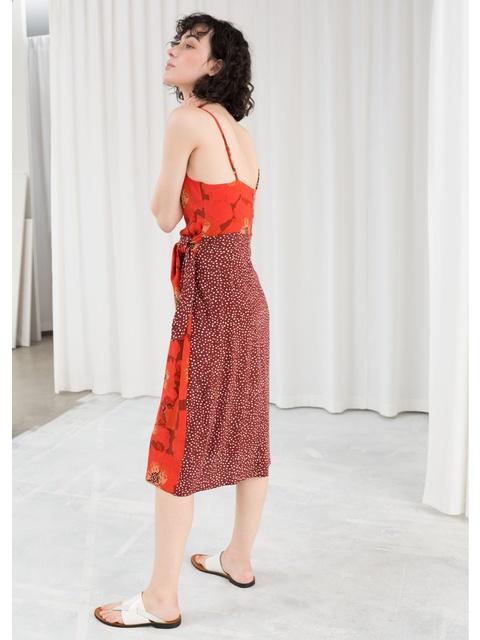 1d1755cef7 Duo Print Midi Dress | Endource