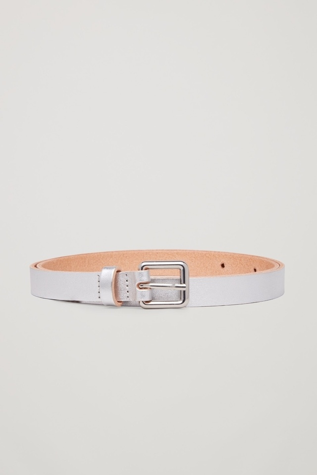 metallic leather belt endource
