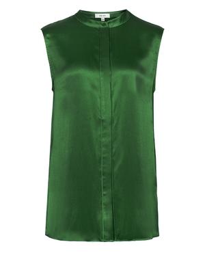 0f8fbb6c398fe Lila Silk Sleeveless Blouse by Reiss