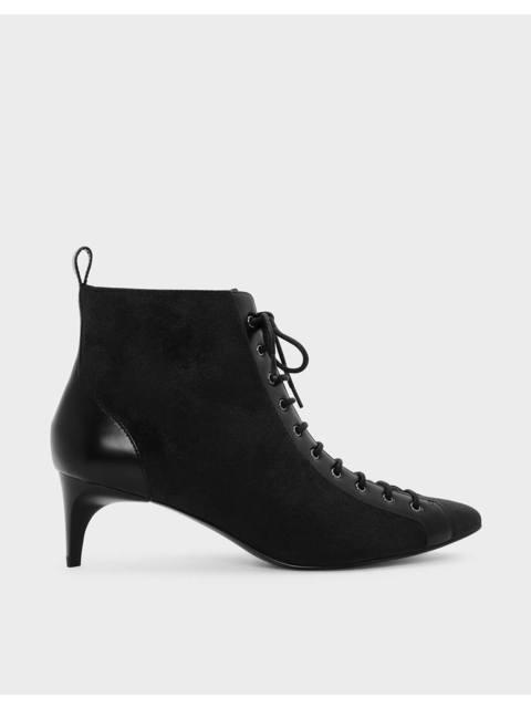 7c0d8c94c4b Kitten Heel Lace Up Boots