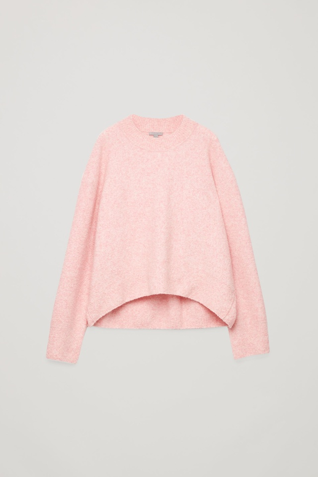 4bef3adf411a Oversized Wool-Boucle Jumper   Endource