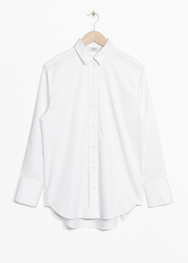 Crisp cotton shirt endource for Crisp white cotton shirt