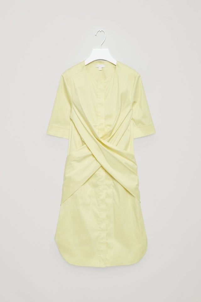 Tie back shirt dress endource for How to make a tie back shirt