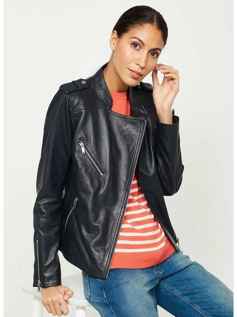 bbc0452c43da Leather Biker Jacket   Endource