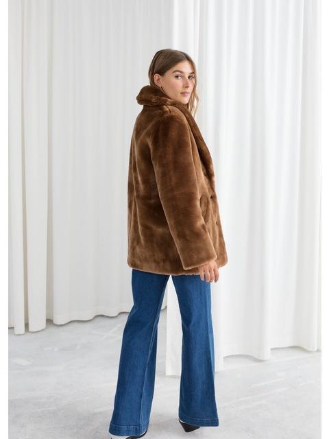 aed86b02 Short Faux Fur Coat | Endource