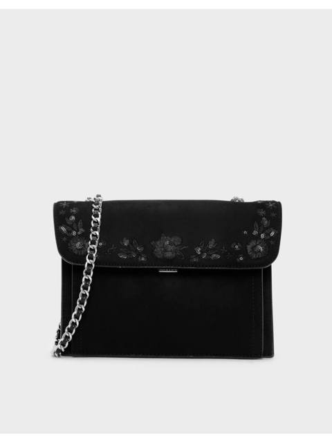 71227a792cee Embroidered Front Flap Bag | Endource