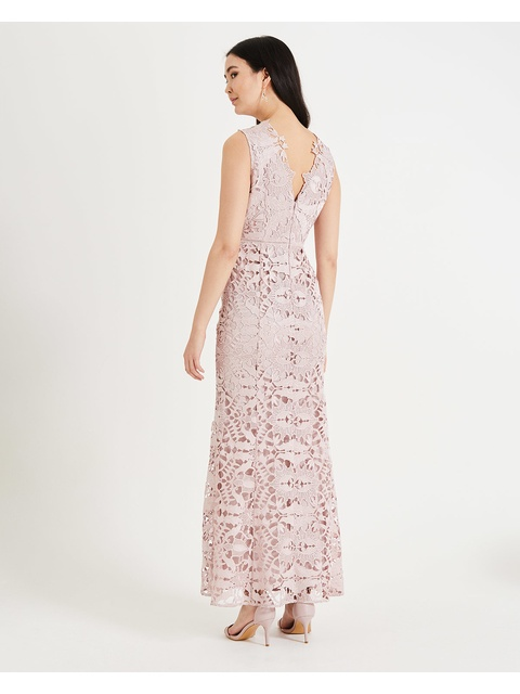 aad77c76456 Zoey Lace Maxi Dress