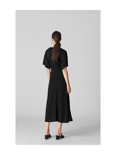 d10b841067a Spot Wrap Jersey Tie Dress   Endource
