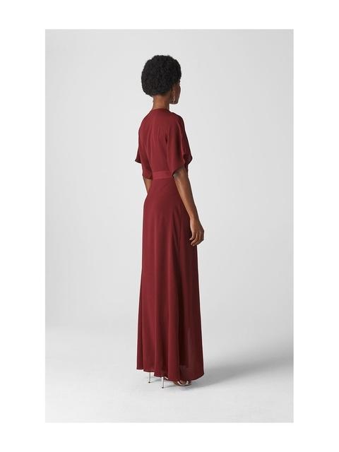 015f433bb56 Nova Frill Wrap Maxi Dress