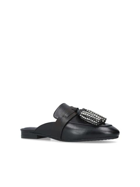 69e3a14a7d2 Kaiser Crystal Embellished Tassel Loafers