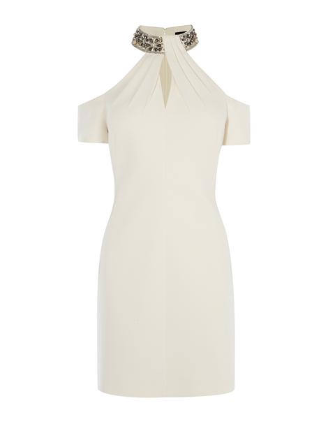 ef806685657c11 Jewel Collar Dress
