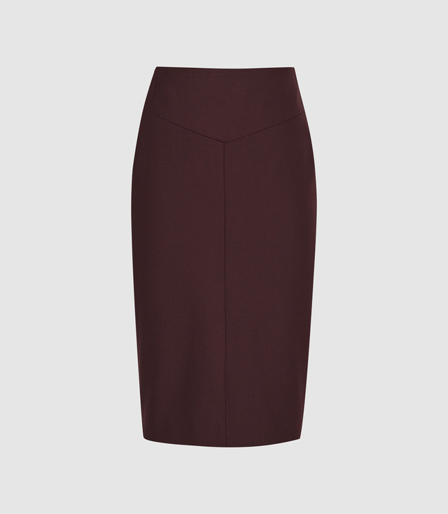 c8c0369d9 Lissia Textured Pencil Skirt | Endource